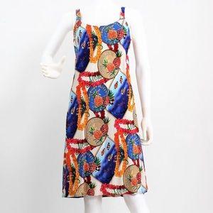 THE ORIGINAL HAWAIIAN ALOHA SPAGHETTI STRAP DRESS